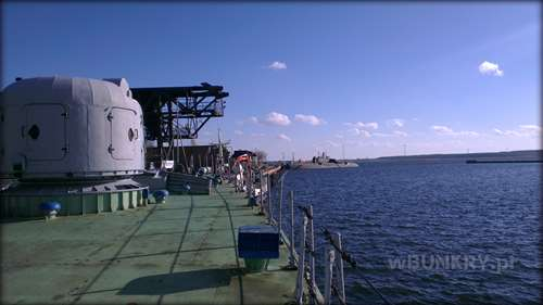 Peenemunde - wizyta na okręcie rakietowym