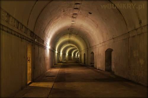 Anlage Süd schron tunelowy