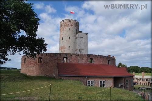 twierdza wisłoujście - widok z bastionu