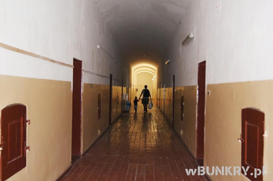 wbunkry twierdza boyen korytarz